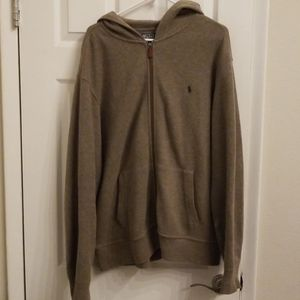 Ralph Lauren Polo Hoodie Jacket Xl Mens